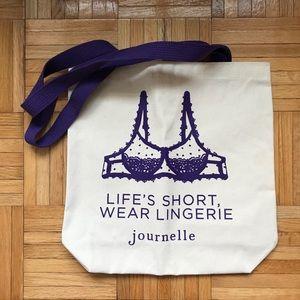 Journelle Canvas Tote Bag